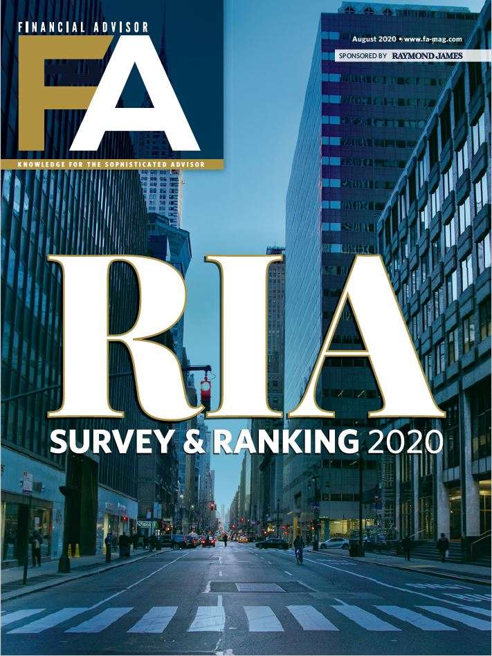 FA RIA Survey Ranking 2020