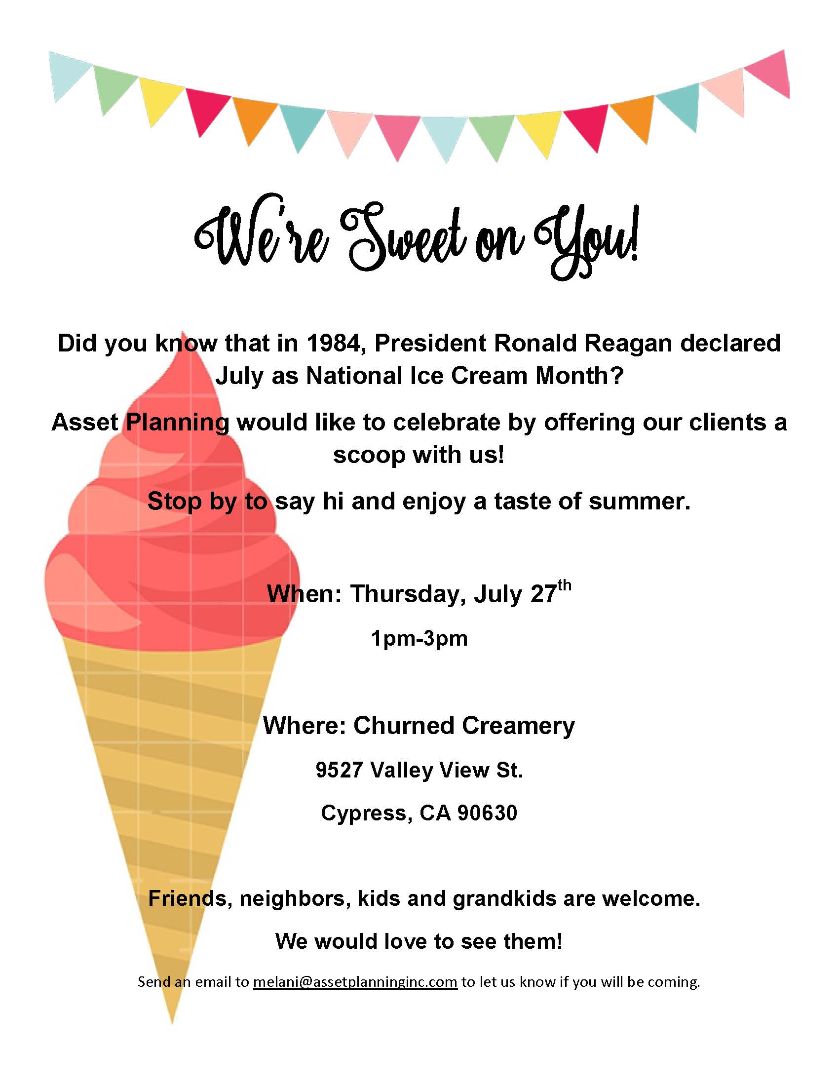Ice Cream Event Flyer 2