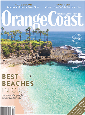 Orange Coast Magazine June 2018 issue