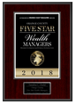 Five Star Professional 2018 Plaque